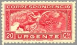 Sellos de Europa - España -  ANGEL Y CABALLOS