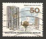 Sellos de Europa - Alemania -  plaza ernst reuter