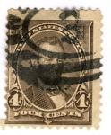 Sellos de America - Estados Unidos -  Presidente Lincoln