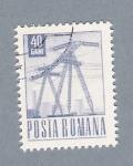 Sellos del Mundo : Europa : Rumania : Electricidad