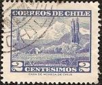 Sellos del Mundo : America : Chile : Volcan Chosmuencos