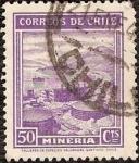 Sellos del Mundo : America : Chile : Mineria