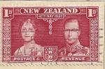 Sellos del Mundo : Oceania : Nueva_Zelanda : Pareja real