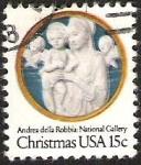 Sellos del Mundo : America : Estados_Unidos : CHRISTMAS - ANDREA DE LA RABBIA: NATIONAL GALLERY