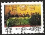 Sellos del Mundo : America : Argentina : CASA DEL ACUERDO DE SAN NICOLAS