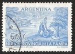 Sellos de America - Argentina -  NUEVA PROVINCIA DE LA PAMPA