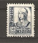 Sellos de Europa - España -  Isabel La Catolica.