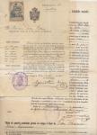 Sellos del Mundo : Europa : España : ALFONSO XIII 6 DOCUMENTOS, GUARDIA CIVIL Y GOBIERNO MILITAR DE BALEARES, EXPEDIENTE 1919-1930