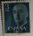 Sellos del Mundo : Europa : España : Franco 3 ptas