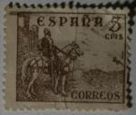 Sellos del Mundo : Europa : España : El Cid 5 cms