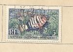 Sellos del Mundo : Oceania : Nueva_Caledonia : Pez Lionardella fasciata