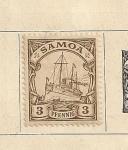 Sellos del Mundo : Oceania : Samoa_Occidental : Barco