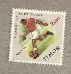 Sellos del Mundo : Asia : Timor_oriental : Fútbol