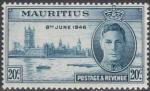 Sellos del Mundo : Africa : Mauricio : MAURICIO 1946 (S224)Paz 20c