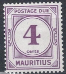 Sellos del Mundo : Africa : Mauricio : MAURICIO 1933-54 (S J2) Numero 2c