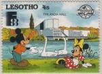 Sellos del Mundo : Africa : Lesotho : Mickey & Minnie