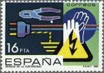 Sellos del Mundo : Europa : España : PREVENCION DE ACCIDENTES LABORALES