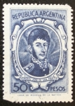 Sellos del Mundo : America : Argentina : General Jose de San Martin 50 pesos