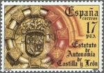 Sellos de Europa - España -  ESTATUTOS DE AUTONOMIAS