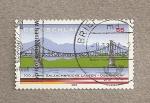 Sellos de Europa - Alemania -  100 Aniv. del puente Salzach