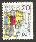Sellos de Europa - Alemania -  1726 - Faro de Sassnitz