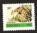 Sellos del Mundo : Africa : Tanzania : GENET KANU