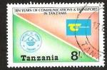 Sellos del Mundo : Africa : Tanzania : TEN YEARS OF COMUNICATIONS & TRANSPORT IN TANZANIA