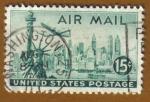 Sellos del Mundo : America : Estados_Unidos : New York Sky Line