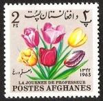 Sellos del Mundo : Asia : Afganistán : LA JOURNEE DE PROFESSEUR
