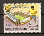 Sellos de Africa - Mozambique -  Mundial de Futbol España 82