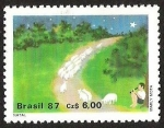 Sellos de America - Brasil -  MARLY MOTA- FLAUTISTA