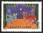 Sellos del Mundo : America : Brasil : MARLY MOTA- BAILARINAS