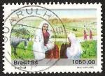 Sellos del Mundo : America : Brasil : PAUL GARFUNKEL