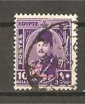 Sellos de Africa - Egipto -  Farouk 1
