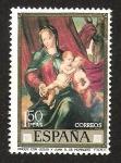 Sellos del Mundo : Europa : España : VIRGEN CON JESUS Y JUAN