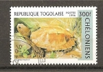 Sellos del Mundo : Africa : Togo : Tortugas.