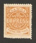 Sellos del Mundo : Oceania : Samoa_Occidental : sello local expres
