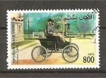Sellos del Mundo : Asia : Afganistán :  Retrospectiva del automovil.