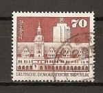 Sellos de Europa - Alemania -  DDR / Construcciones Socialistas en la RDA