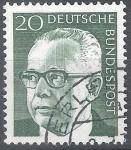 Sellos de Europa - Alemania -  basica Gustav Heinemann