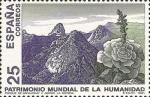 Sellos de Europa - España -  BIENES CULTURALES Y NATURALES PATRIMONIO .MUNDIAL DE LA UMANIDAD