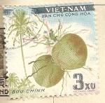 Sellos del Mundo : Asia : Vietnam : Fruta tropical