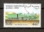 Sellos del Mundo : Africa : Somalia : Locomotoras