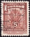 Sellos del Mundo : America : Ecuador : Casa de correos y telégrafos