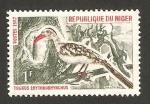 Sellos del Mundo : Africa : Níger : 190 - ave tockus erythrorhynchus