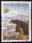 Sellos de America - Colombia -  Oso de Anteojos