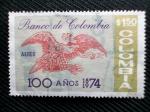 Sellos del Mundo : America : Colombia : Banco de Colombia