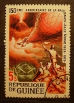 Sellos del Mundo : Africa : Guinea : 150 aniversario del nacimiento de Julio Verne