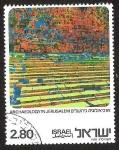 Sellos de Asia - Israel -  ARCHAEOLOGY IN JERUSALEM