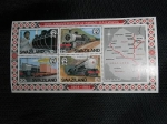Sellos del Mundo : Africa : Swazilandia : 20th. of Swazi Railways